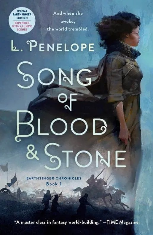 Blood Song Series : blood, series, Blood, Stone, Penelope, Award-Winning, Fantasy, Author