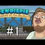 世界の有名Youtuberと仲良くなれるアクションゲーム【PewDiePie: Legend of the Brofist】[ゲーム実況byアブ ]