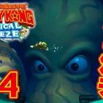 恐怖の8本足の化け物『ドンキーコング トロピカルフリーズ』を実況プレイpart14[ゲーム実況byだいだら]