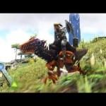 #36【ARK】Tek生物第3弾!Tekラプトル!&変化したユタラプトル!【Season4】【RAGNAROK】【ARK Survival Evolved】【公式PVE】[ゲーム実況by月冬]
