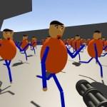 「あいつ」を機関銃で撃ちまくってみた。新バルディ先生の学校~Baldi's Basics[ゲーム実況byオダケンGames]
