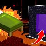 悲報!マインクラフトのネザーでベッドに寝てしまう – Minecraft #6[ゲーム実況byポッキー]