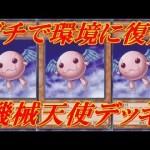 【遊戯王デュエルリンクス】サイバープチエンジェルのリミット1&スキル修正でかなり強化でデュエルキングも楽勝に!!機械天使デッキ!!Yu-Gi-Oh!DuelLinks[ゲーム実況byふっちょのゲーム日記]