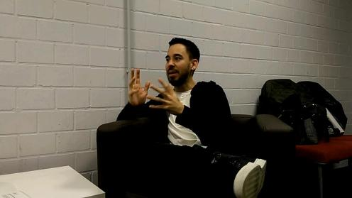 Mike during the interview