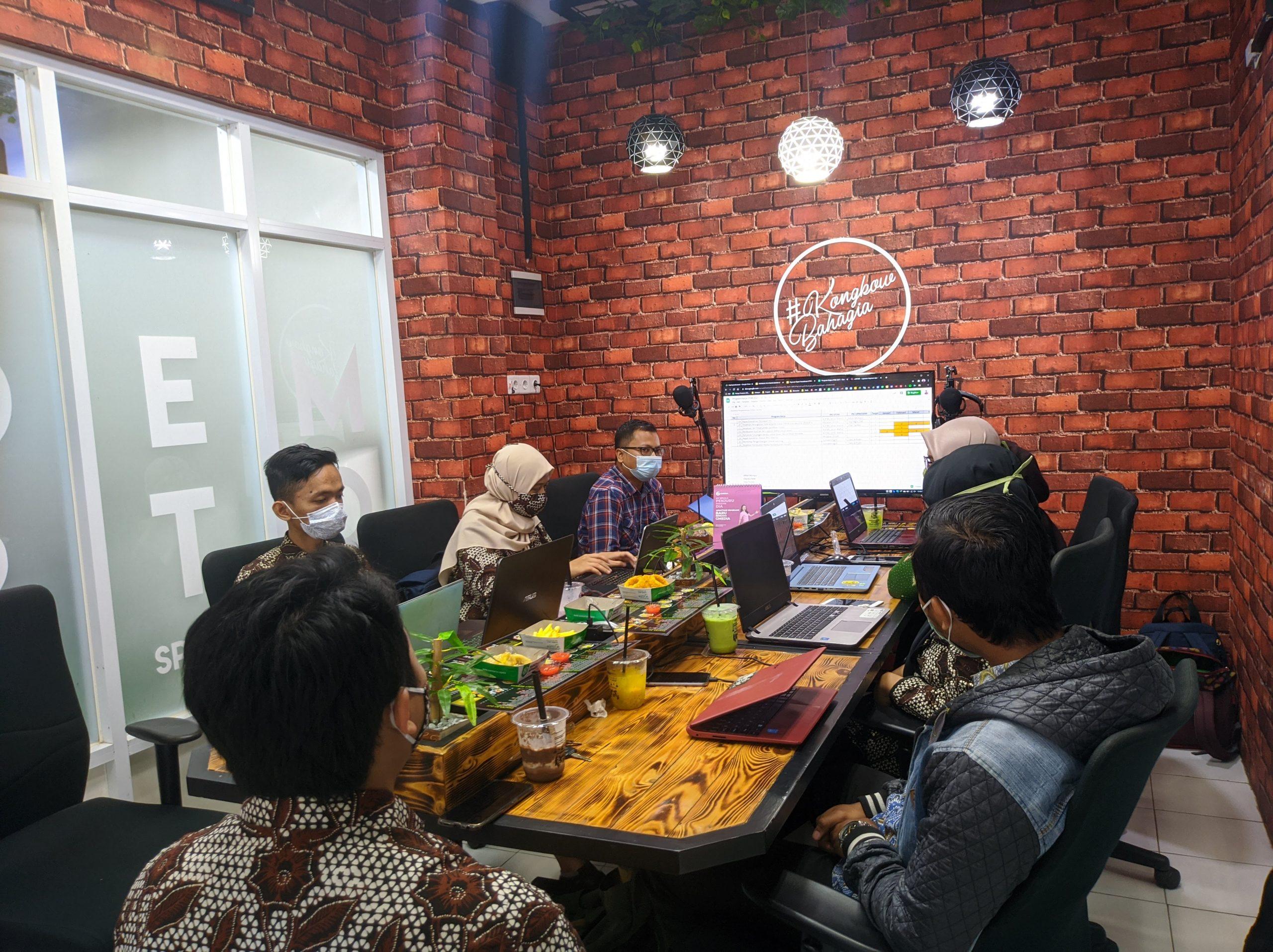 LP3M Selenggarakan Rapat Koordinasi dengan UPM dan GKM