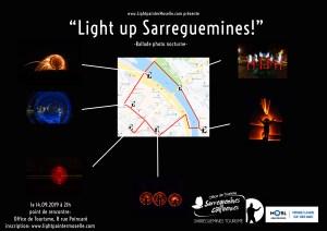 light up Sarreguemines
