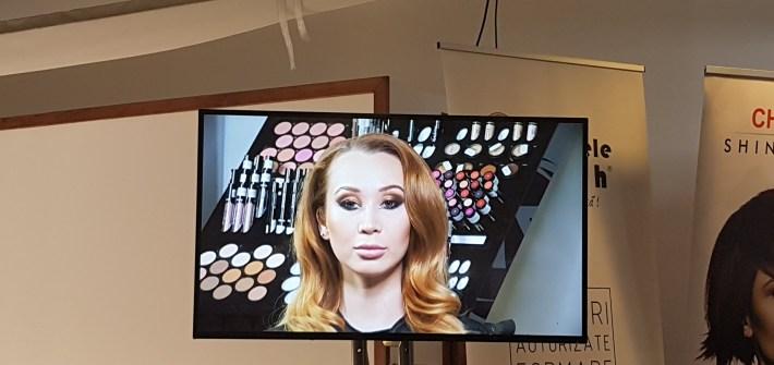 Zilele Internationale ale Frumusetii makeup Mirela Pancu Si Carmen Burci glamour