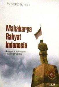 Cover Buku - Mahakarya Rakyat Indonesia