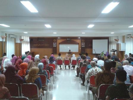 Suasana pelantikan Wakil Rektor UIN Sunan Kalijaga, Jumat (6/2).