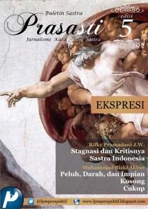 Book Cover: Buletin Prasasti Edisi 5: Ekspresi