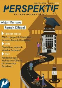 Book Cover: Buletin Bulanan 2018 Edisi 3: Wajah Kampus Ramah Difabel