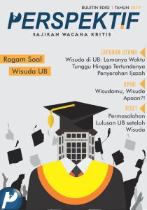 Book Cover: Buletin Bulanan 2019 Edisi 1: Ragam Soal Wisuda UB