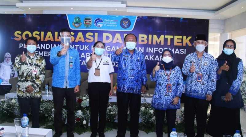 Urusan Persandian, Diskominfo Purwakarta Terbaik di Jawa Barat