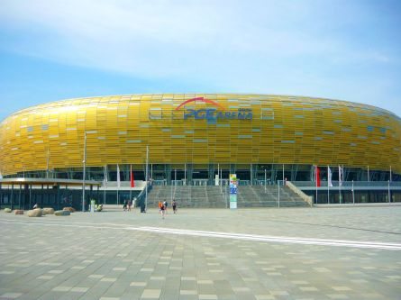 32 Le stade de Gdańsk
