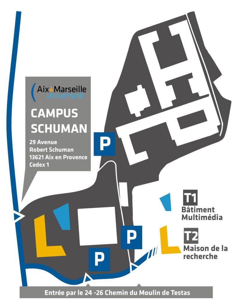 Le campus Schuman