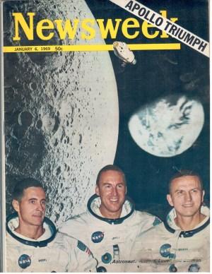 Newsweek NASA January 6 1969 Frank Borman