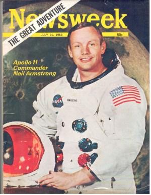 Newsweek NASA July 21 1969 Neil Armstrong