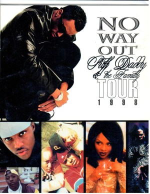 Puff Daddy & The Family No Way Out 1998 Tour Book