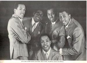 The Temptations Souvenir Concert Program 1967