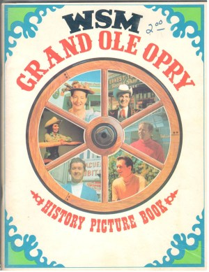 Grand Ole Opry History Picture Book