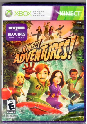 xbox 360 kinect adventures factory sealed j7d-00001