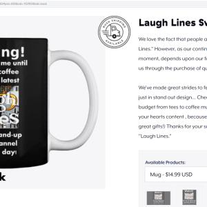 LP Laugh Lines Coffee Mug