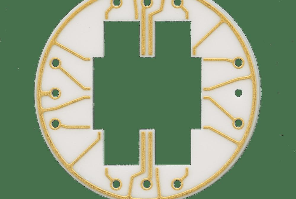Circular Ceramic Circuit Board