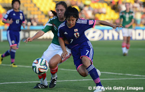 Japan v Mexico: Quarter Final - FIFA U-17 Women's World Cup Costa Rica 2014