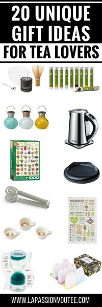 20 Perfect Gift Ideas for Tea Lovers | Tea Lovers Gift Guide