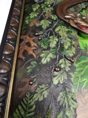 detail of fresh water pearls