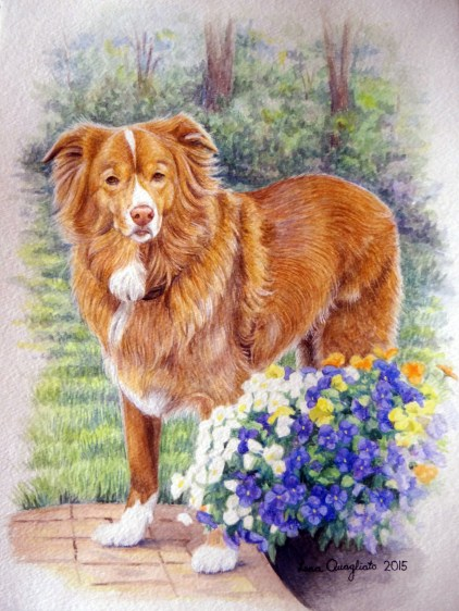 """Sonny"" Watercolor"