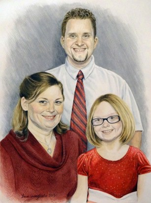 Family portrait (watercolor)