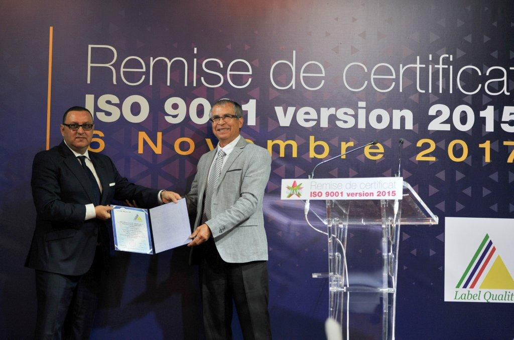 Algérie – SHAPS –  ISO 9001 version 2015 par Label Qualité