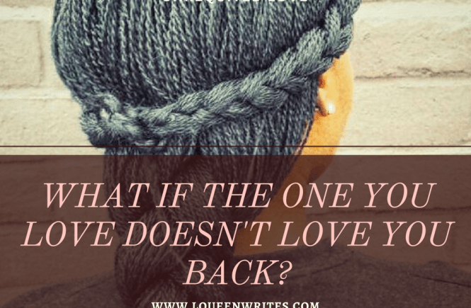 does not love you back