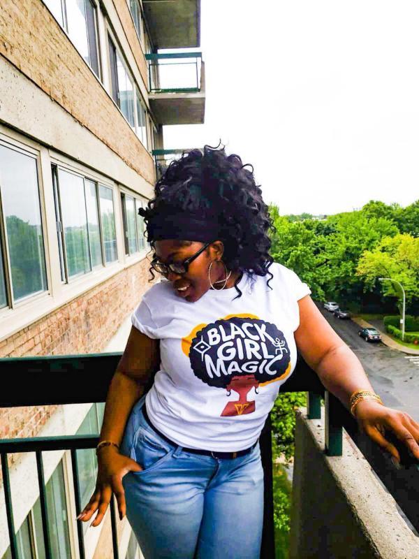 black girl magic teeshirt