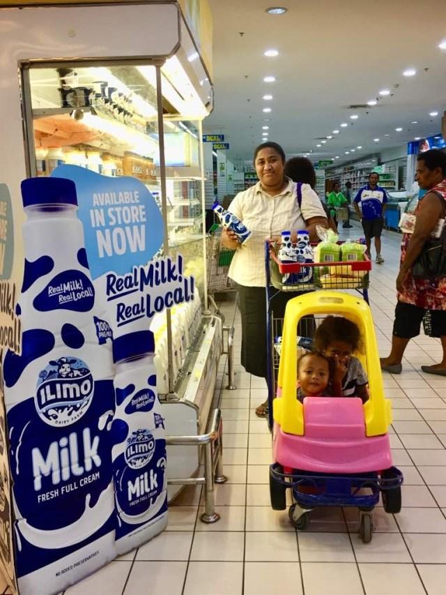 Milk in Stores POM