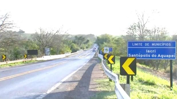 A ponte Aguapei