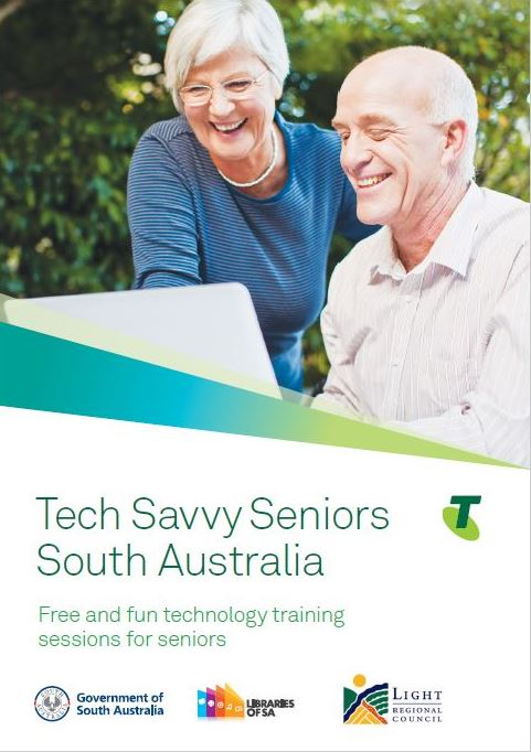 Tech Savvy Seniors  Light Regional Public Library Service