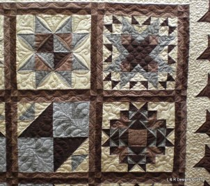 Mary's Star Sampler Quilt 4