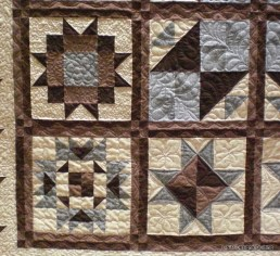 Mary's Star Sampler Quilt 6
