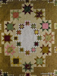 center quilting detail