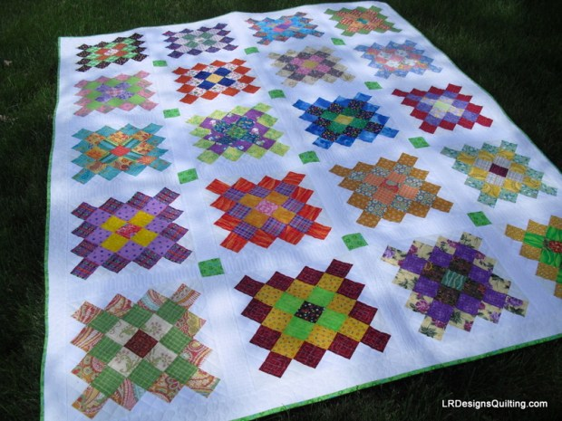 My Great Granny Square quilt