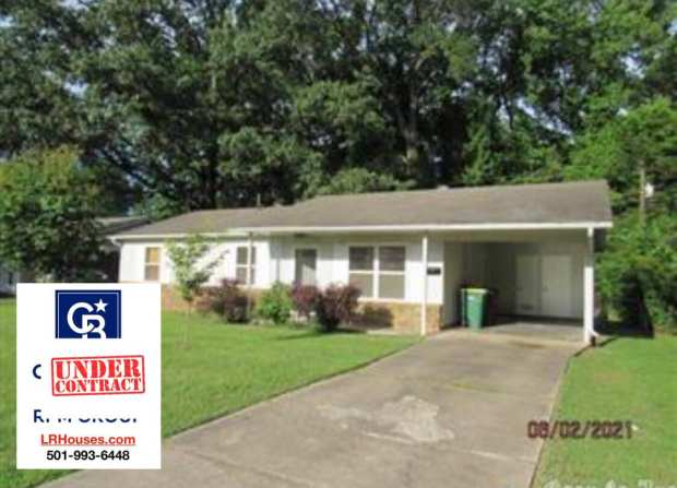 House in Sherwood, Arkansas under contract.