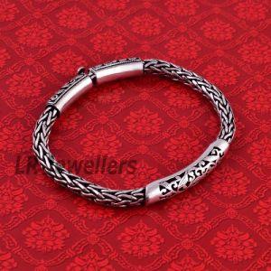 Braided Jailwork Handmade Chain Bracelet