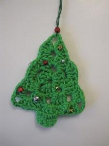 Hæklede juletræer – DIY