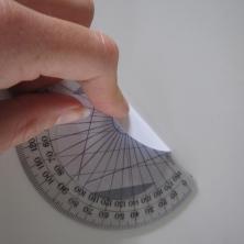 Guide til foldning af moduler til en papir bold