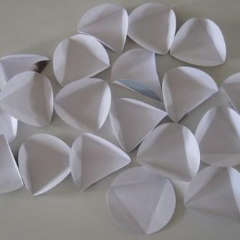 Cirkler / moduler til en hjemmelavet papir bold