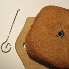 At få rørekrogen ud af et bagemaskine brød 1