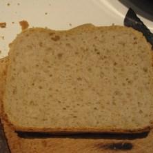 brødskive fra en bagemaskine