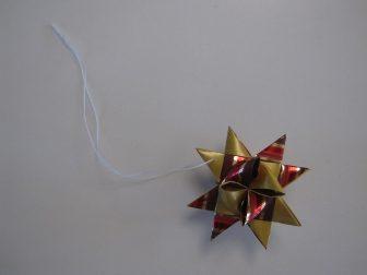 DIY julestjerner,tråd,2
